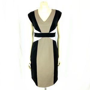 Maggy London Dress colorblock